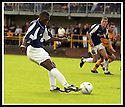 24/8/02         Copyright Pic : James Stewart                     .File Name : stewart-alloa v falkirk 10.FALKIRK'S TRINIDADIAN INTERNATIONALIST COLLIN SAMUEL FIRES HOME THE FOURTH GOAL......James Stewart Photo Agency, 19 Carronlea Drive, Falkirk. FK2 8DN      Vat Reg No. 607 6932 25.Office : +44 (0)1324 570906     .Mobile : + 44 (0)7721 416997.Fax     :  +44 (0)1324 570906.E-mail : jim@jspa.co.uk.If you require further information then contact Jim Stewart on any of the numbers above.........