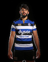 Alex Humfrey poses for a portrait at a Bath Rugby photocall. Bath Rugby Photocall on November 22, 2016 at Farleigh House in Bath, England. Photo by: Rogan Thomson / JMP / Onside Images
