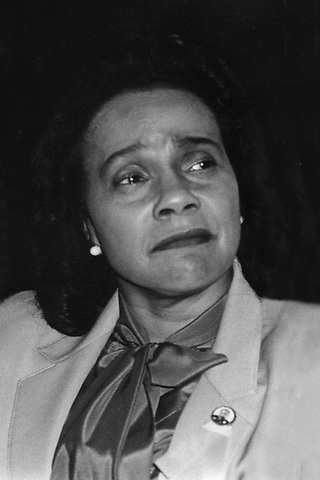 Coretta Scott King at the Women's Conference to Prevent Nuclear War in Washington, DC 1984