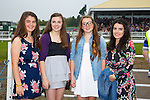 Enjoying Ladies Day at the Listowel Races on Friday were: Janine O'Connor, Lorraine Nash, Ursula Earlie and Grace Clavo from Tralee.