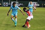 Junior venció 1-2 a Jaguares. Fecha 19 Liga Águila I-2018.