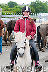 Ballyduff Horse Fair : Pictured at Ballyduff horse fair on Sunday last was Caoimhe Spillane from Abbeydorney.