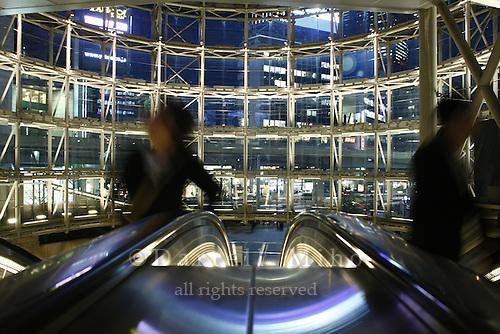 April 11, 2008; Tokyo, Japan - Entrance to Roppongi Stationi from Roppongi Hills...Photo credit: Darrell Miho