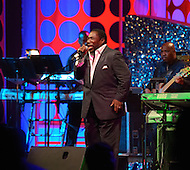 """August 25, 2011 (Washington, DC) Grammy award winning singer Gerald Levert performed at """"The Message in the Music"""" at the Washington Convention Center on August 25, 2011.  The star studded concert was led by musical director Ray Chew, and celebrated the dedication of the Martin Luther King Jr. Memorial.   (Photo by Don Baxter/Media Images International)"""