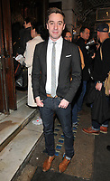 James Graham at the &quot;Quiz&quot; press night, Noel Coward Theatre, St Martin's Lane, London, England, UK, on Tuesday 10 April 2018.<br /> CAP/CAN<br /> &copy;CAN/Capital Pictures