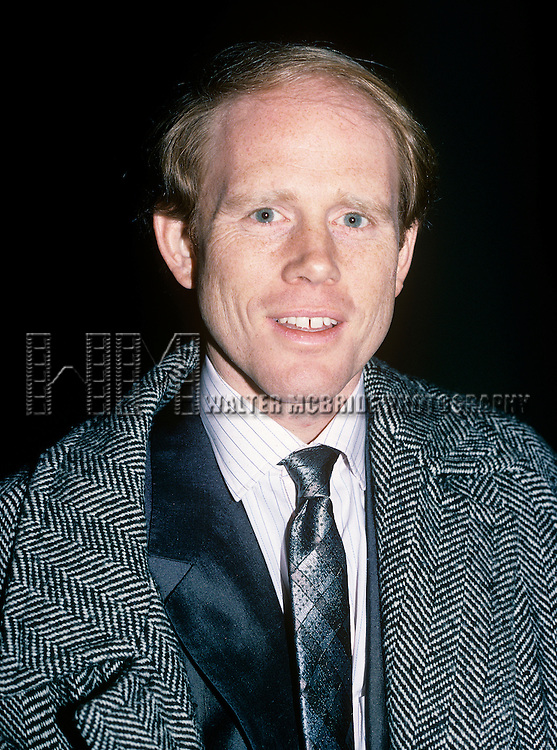 Ron Howard in New York City, October 1988