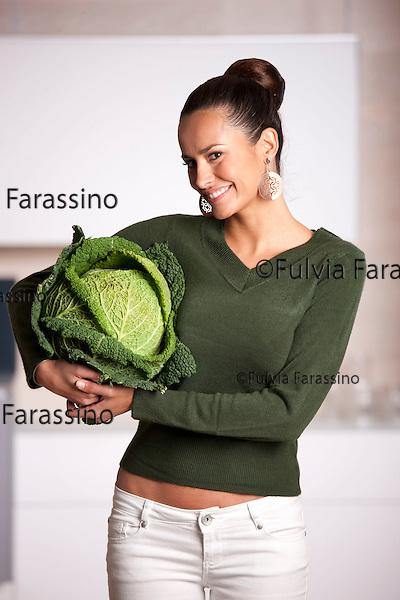 Michela Coppa per<br /> dieta alla clorofilla