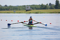 Race: 49  Event: Women's Lightweight Single Sculls - Heat 3<br /> <br /> National Schools Regatta 2018<br /> Sunday<br /> <br /> To purchase this photo, or to see pricing information for Prints and Downloads, click the blue 'Add to Cart' button at the top-right of the page. The Metropolitan Regatta 2018