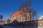 2020-02-18 Kraków. Kościół Bożego Ciała – gotycka bazylika rzymskokatolicka Kanoników Regularnych Laterańskich, przy ul. Bożego Ciała 26 w Krakowie na Kazimierzu.