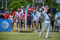 Brandon Grace (RSA) watches his tee shot on 1 during round 2 of the AT&amp;T Byron Nelson, Trinity Forest Golf Club, at Dallas, Texas, USA. 5/18/2018.<br /> Picture: Golffile | Ken Murray<br /> <br /> <br /> All photo usage must carry mandatory copyright credit (&copy; Golffile | Ken Murray)