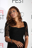 """LOS ANGELES - NOV 3:  Eva Mendes arrives at the AFI Film Festival 2012  """"On the Road"""" Gala Screening at Los Angeles on November 3, 2012 in Graumans Chinese Theater, CA"""