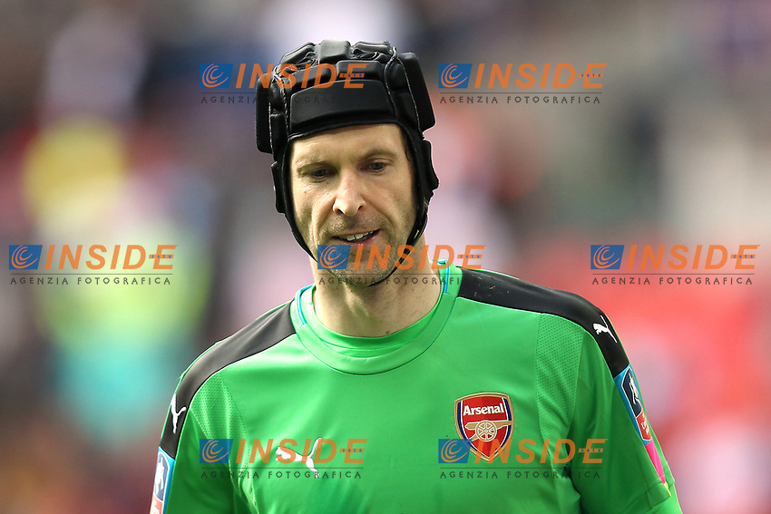 Petr Cech of Arsenal <br /> London 23/04/2017 <br /> Arsenal vs Manchester City - FA Cup Semi Final <br /> Foto Darren Staples/PHCImages / Panoramic/Insidefoto <br /> ITALY ONLY