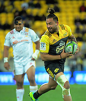 Matt Proctor in action during the Super Rugby semifinal match between the Hurricanes and Chiefs at Westpac Stadium, Wellington, New Zealand on Saturday, 30 July 2016. Photo: Dave Lintott / lintottphoto.co.nz