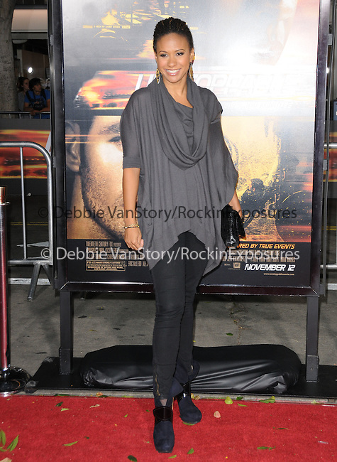 Tracie Thoms attends the Twentieth Century Fox's L.A. Premiere of Unstoppable held at Regency Village Theater in Westwood, California on October 26,2010                                                                               © 2010 Hollywood Press Agency