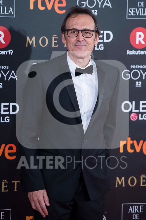 Alberto Iglesias attends red carpet of Goya Cinema Awards 2018 at Madrid Marriott Auditorium in Madrid , Spain. February 03, 2018. (ALTERPHOTOS/Borja B.Hojas)