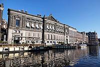 Nederland Amsterdam 2018.  De Oude Turfmarkt.  Het Allard Pierson Museum.  Foto Berlinda van Dam / Hollandse Hoogte