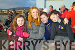 Pictured at Ballyheigue races on New Year's Day were l-r: Rachel O'Donnell (Abbeydorney) Jackie Dodd (Tralee) Megan O'Donnell (Tralee) and Lucy O'Donnell (Tralee).