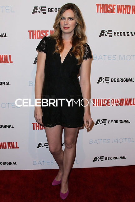 "HOLLYWOOD, LOS ANGELES, CA, USA - FEBRUARY 26: Anne Dudek at the Premiere Party For A&E's Season 2 Of ""Bates Motel"" & Series Premiere Of ""Those Who Kill"" held at Warwick on February 26, 2014 in Hollywood, Los Angeles, California, United States. (Photo by Xavier Collin/Celebrity Monitor)"