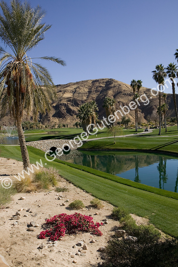 Stock photo of golf course