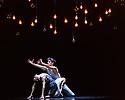 "London, UK. 09.11.2016. New English Ballet Theatre presents ""Quint-Essential: Five New Ballets"", at the Peacock Theatre. Five new ballets have been commissioned to celebrate NEBT's 5th anniversary. The choreographers commissioned are: Daniela Cardim, Kristin McNally, Marcelino Sambe, George Williamson and Valentino Zucchetti. The piece shown is: Strangers, choreographed by George Williamson. The dancers in this piece are:  Hannah Sofo, Pablo Luque Romero, Zoe Arshamian, Nathan Hunt, Isabella Swietlicki, Seamus Wilkinson. Photograph © Jane Hobson."