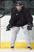 TJ Oshie - The University of North Dakota Fighting Sioux took part in the morning skate on Saturday, December 10, 2005, at Ralph Engelstad Arena in Grand Forks, North Dakota.