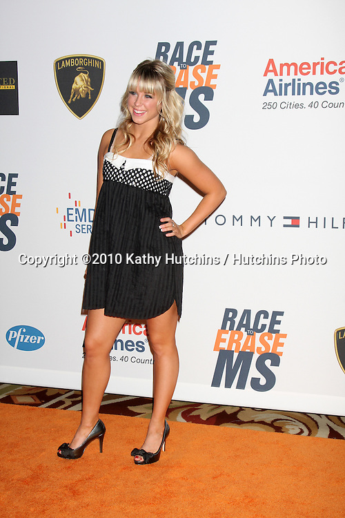Chelsea Hightower.arrives at the 17th Race To Erase MS Gala.Century Plaze Hotel.Century City, CA.May 7, 2010.©2010 Kathy Hutchins / Hutchins Photo...