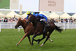 June 22, 2019, Ascot, UNITED KINGDOM -  Blue Point with James Doyle up winning The Diamond Jubilee Stakes (Gr 1) at Ascot Race Course  [Copyright (c) Sandra Scherning/Eclipse Sportswire)]