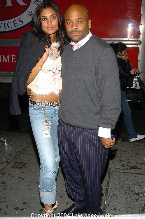 Damon Dash (right) and guest