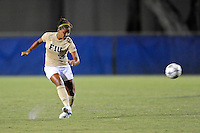 21 August 2011:  FIU's Scarlett Montoya (10) passes the ball in the second half as the University of Florida Gators defeated the FIU Golden Panthers, 2-0, at University Park Stadium in Miami, Florida.
