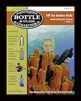 MCA-Antique Bottle & Glass Collector  Aug 2011