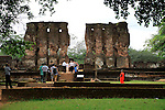 Royal Palace, Citadel, UNESCO World Heritage Site, the ancient city of Polonnaruwa, Sri Lanka, Asia