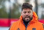 ROTTERDAM -  bondscoach Max Caldas (NED)  voor  de Pro League hockeywedstrijd heren, Nederland-Spanje (4-0) . COPYRIGHT KOEN SUYK