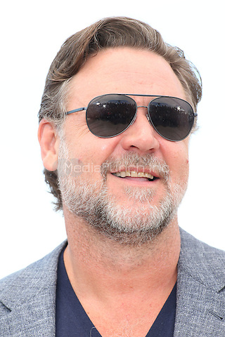 Russell Crowe at 'The Nice Guys' photocall during the 69th Cannes International Film Festival on May 15th, 2016.<br /> CAP/GOL<br /> &copy;GOL/Capital Pictures /MediaPunch ***NORTH AMERICA AND SOUTH AMERICA ONLY***