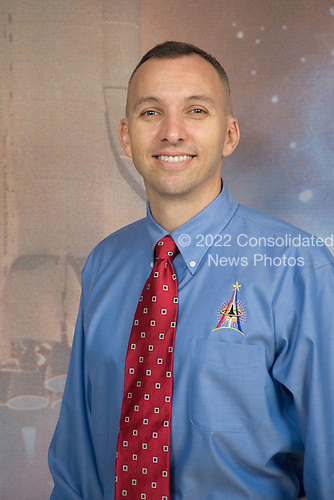 Houston, TX - October 16, 2009 -- Astronaut Randy Bresnik, STS-129 mission specialist, poses for a portrait following an STS-129 preflight press conference at NASA's Johnson Space Center..Mandatory Credit: Lauren Harnett - NASA via CNP