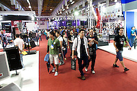 ATEN&Ccedil;&Atilde;O EDITOR: FOTO EMBARGADA PARA VE&Iacute;CULOS INTERNACIONAIS<br /> SAO PAULO, SP, 20 SETEMBRO 2012 - EXPOMUSIC - 29 Feira Internacional da Musica, Instrumentos Musicais, Audio, Iluminacao e Acessorios - que esta acontecendo de 19 a 23 de setembro no Expo Center Norte - regiao Zona Norte de Sao Paulo-SP<br /> FOTO: POLINE LYS - BRAZIL PHOTO PRESS