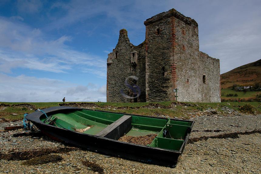 Lochranza Castle, Lochranza, Isle of Arran, Ayrshire<br /> <br /> Copyright www.scottishhorizons.co.uk/Keith Fergus 2011 All Rights Reserved