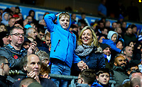 Blackburn Rovers fans celebrate the win after the final whistle <br /> <br /> Photographer Alex Dodd/CameraSport<br /> <br /> The EFL Sky Bet Championship - Blackburn Rovers v Queens Park Rangers - Saturday 3rd November 2018 - Ewood Park - Blackburn<br /> <br /> World Copyright &copy; 2018 CameraSport. All rights reserved. 43 Linden Ave. Countesthorpe. Leicester. England. LE8 5PG - Tel: +44 (0) 116 277 4147 - admin@camerasport.com - www.camerasport.com