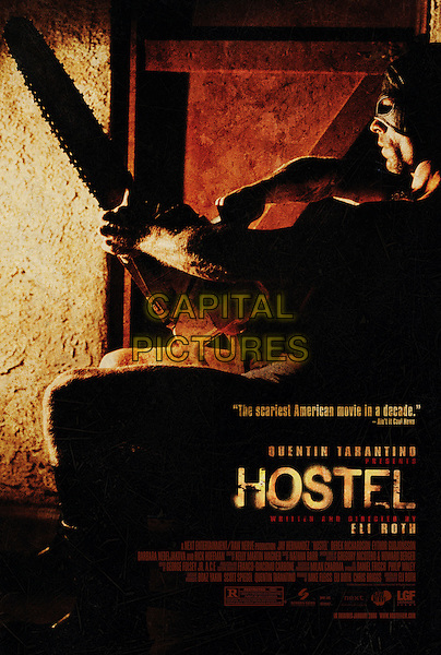 POSTER.in Hostel.*Editorial Use Only*.www.capitalpictures.com.sales@capitalpictures.com.Supplied by Capital Pictures.
