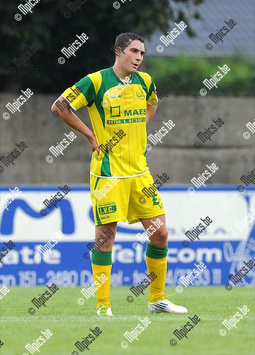 2011-07-20 / Voetbal / seizoen 2011-2012 / Witgoor Sport / Gert Moons..Foto: mpics