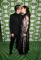 BEVERLY HILLS, CA - JANUARY 6: Kieran Culkin, Jazz Charton, at the HBO Post 2019 Golden Globe Party at Circa 55 in Beverly Hills, California on January 6, 2019. <br /> CAP/MPI/FS<br /> &copy;FS/MPI/Capital Pictures