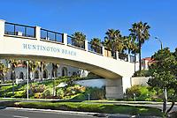 Huntington Beach Pedestrian Bridge to Hyatt Resort