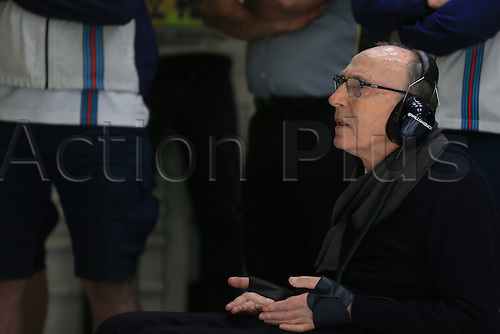 20.06.2015.  Red Bull Ring, Spielberg, Austria. F1 Grand Prix of Austria.   Sir Frank Williams of Williams Martini Racing team watches over the action during Practice 3 at the Red Bull Ring