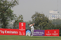 Joonas Granberg (FIN) on the 5th during Round 4 of the 2013 Avantha Masters, Jaypee Greens Golf Club, Greater Noida, Delhi, 17/3/13..(Photo Jenny Matthews/www.golffile.ie)