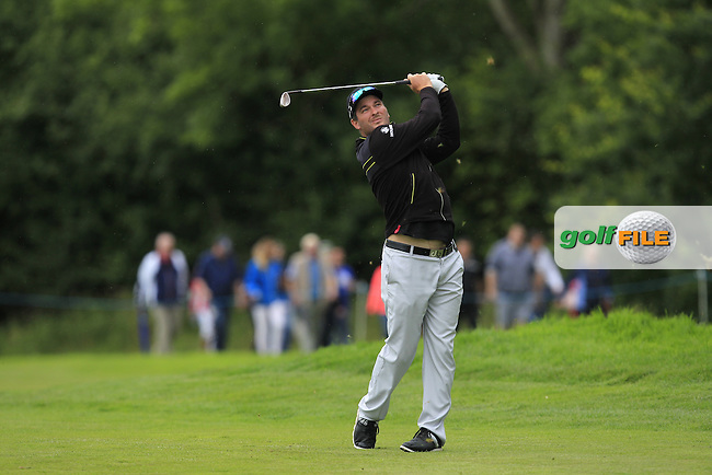 Ryan Fox (NZL) on the 15th fairway during Round 4 of the Tayto Northern Ireland Open in partnership with Ulster Bank at Galgorm Castle Golf Club, Ballymena Co. Antrim on Sunday 31st July 2016.<br /> Picture:  Golffile | Thos Caffrey<br /> <br /> All photos usage must carry mandatory copyright credit   (&copy; Golffile | Thos Caffrey)