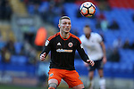 Caolan Lavery of Sheffield Utd during the FA Cup Second round match at the Macron Stadium, Bolton. Picture date: December 4th, 2016. Pic Simon Bellis/Sportimage