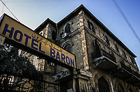 SIRIA Aleppo ,Hotel Baron, la facciata principale