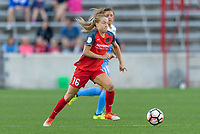 Bridgeview, IL - Saturday August 12, 2017: Emily Sonnett during a regular season National Women's Soccer League (NWSL) match between the Chicago Red Stars and the Portland Thorns FC at Toyota Park. Portland won 3-2.