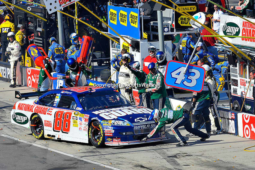 Mar 22, 2009; 4:05:48 PM; Bristol, Tn., USA; NASCAR Sprint Cup Series race for the Food City 500 at the Bristol Motor Speedway.  Mandatory Credit: (thesportswire.net)
