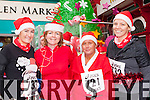 running in the Killarney Jingle run on Sunday were l-r: Emer Brosnan Killarney, marguerite Brosnan Killorglin, Maria O'Donoghue and Mary Brosnan Killarney