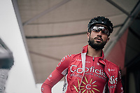 Nacer Bouhanni (FRA/Cofidis) before the start<br /> <br /> 104th Tour de France 2017<br /> Stage 12 - Pau &rsaquo; Peyragudes (214km)